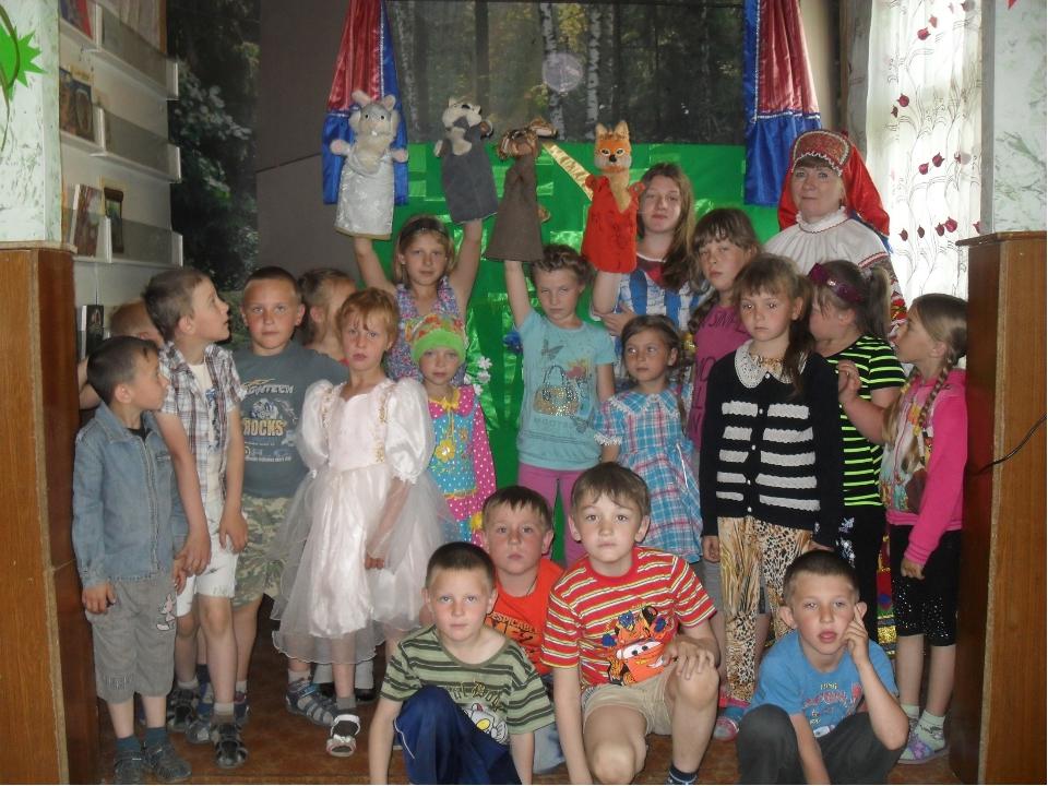 День восемнадцатый. .« «Дружба зверей» - спектакль кукольного театра «Петруш...