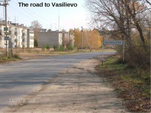 The road to Vasilievo