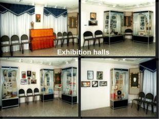 Exhibition halls