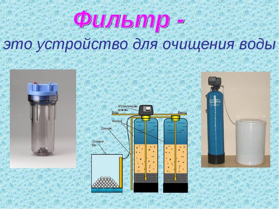 это устройство для очищения воды