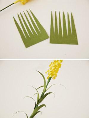 цветы из бумаги шаг 4