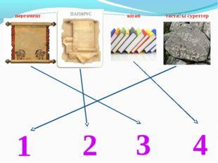 кітап тастағы суреттер папирус пергамент 1 2 3 4