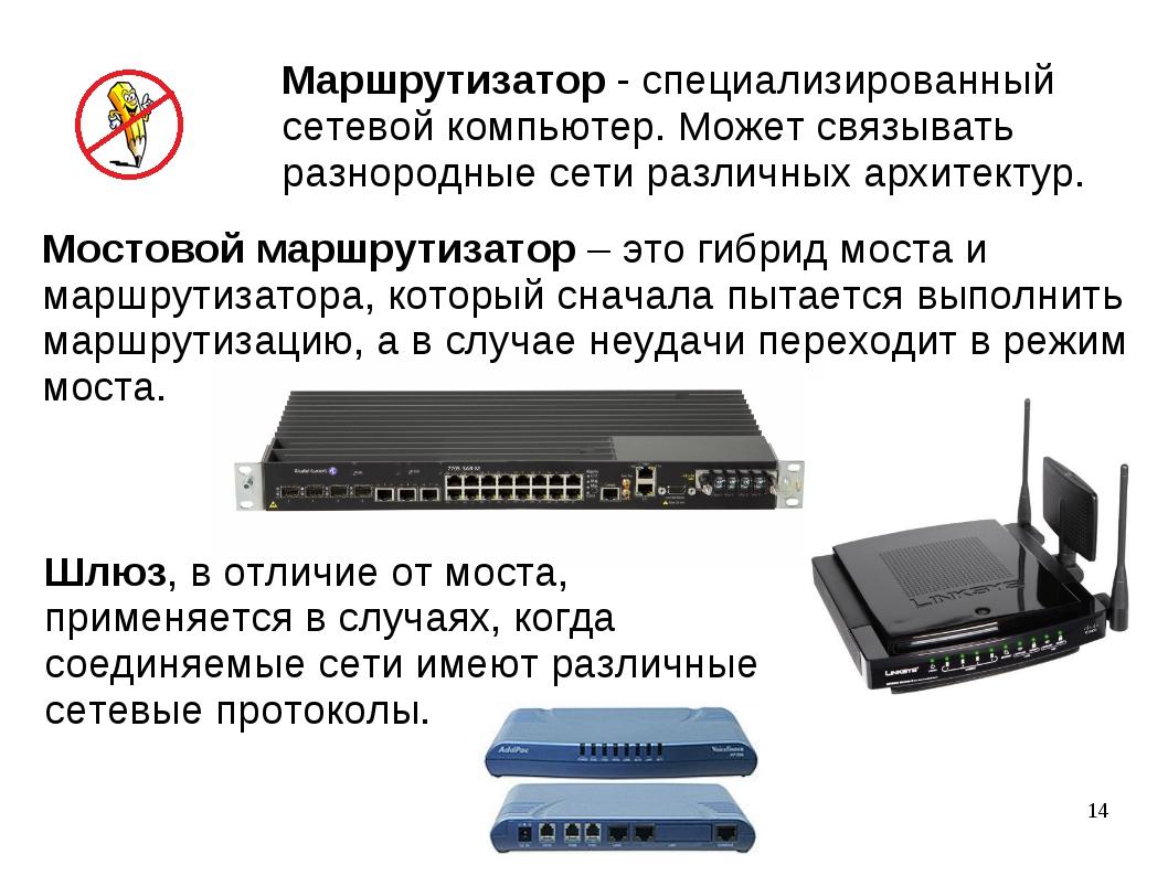 Мостовой маршрутизатор – это гибрид моста и маршрутизатора, который сначала п...