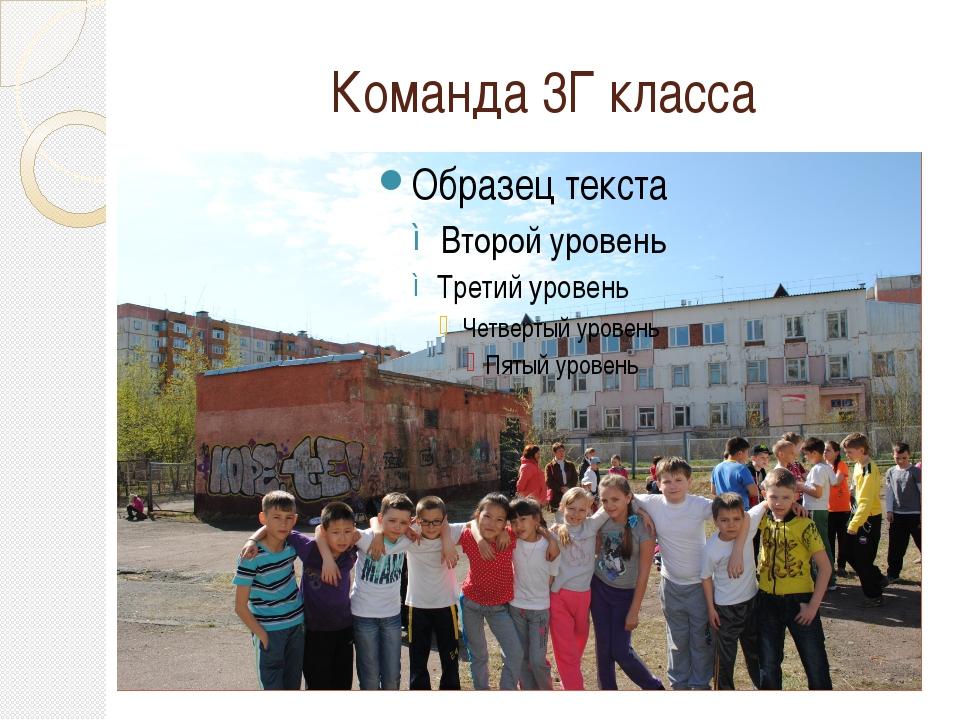 Команда 3Г класса