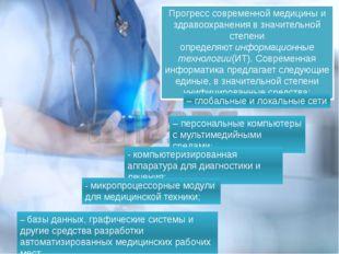 Прогресс современной медицины и здравоохранения в значительной степени опреде