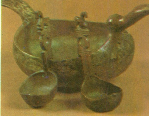старинные обычаи Русского стола. Деревянные долбленые ковши