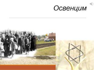 Жертвам Холокоста посвящается Освенцим