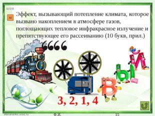 Ф.И. 16 Чрезмерное загрязнение воздуха вредными веществами, выделенными в ре