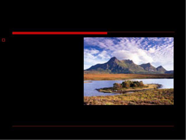 Примерно пятая часть территории Уэльса имеет статус Национального Парка - ска...