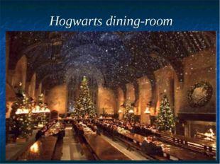 Hogwarts dining-room
