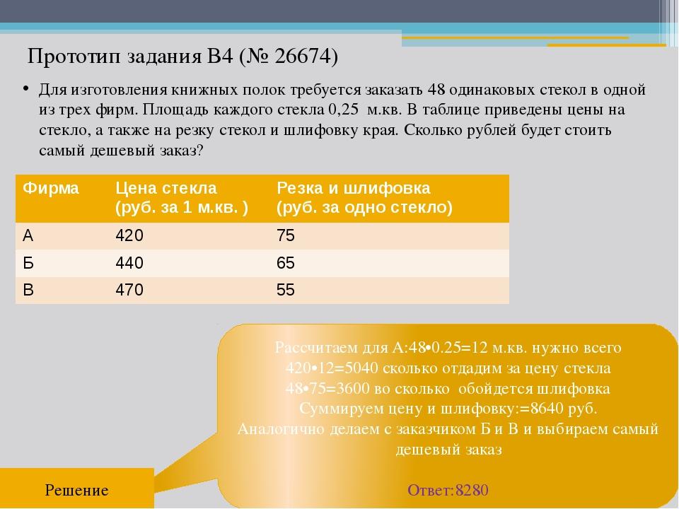Рассчитаем для А:48•0.25=12 м.кв. нужно всего 420•12=5040 сколько отдадим за...