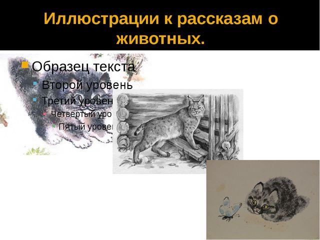Иллюстрации к рассказам о животных.