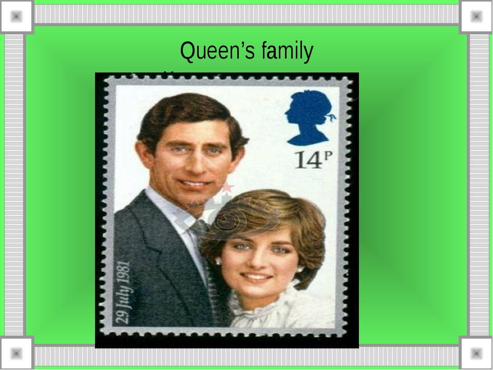 Queen's family Королевская чета