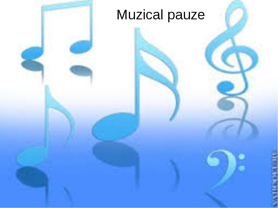 Muzical pauze