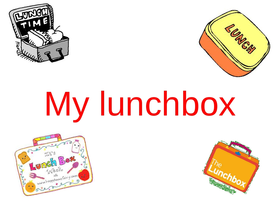 My lunchbox