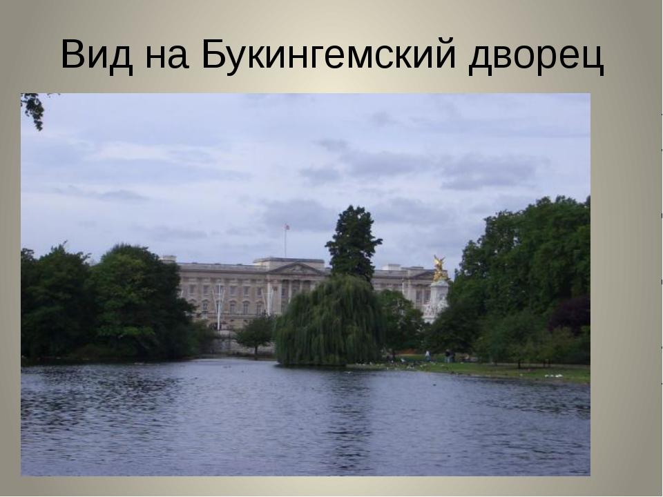 Вид на Букингемский дворец
