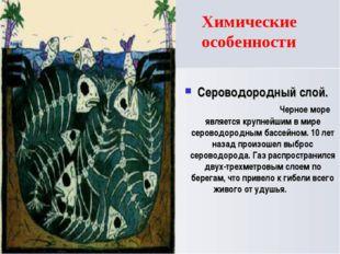 Сероводородный слой. Черное море является крупнейшим в мире сероводородным ба