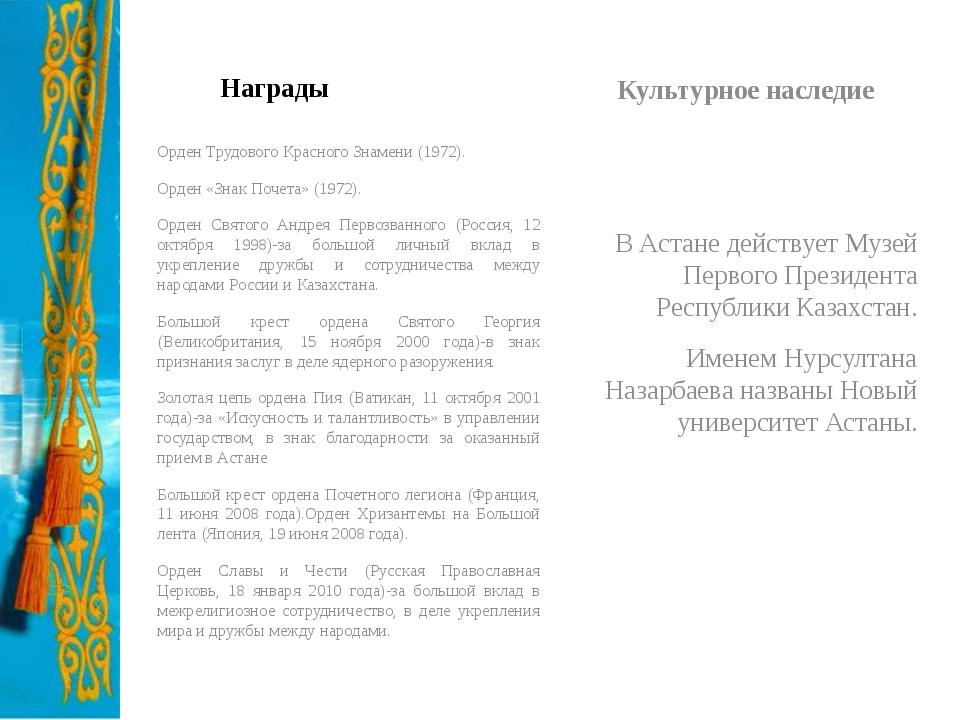 Награды Орден Трудового Красного Знамени (1972). Орден «Знак Почета» (1972)....