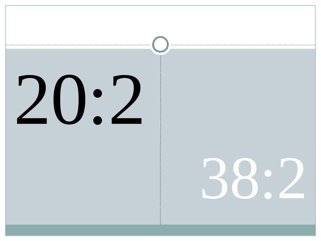 20:2 38:2