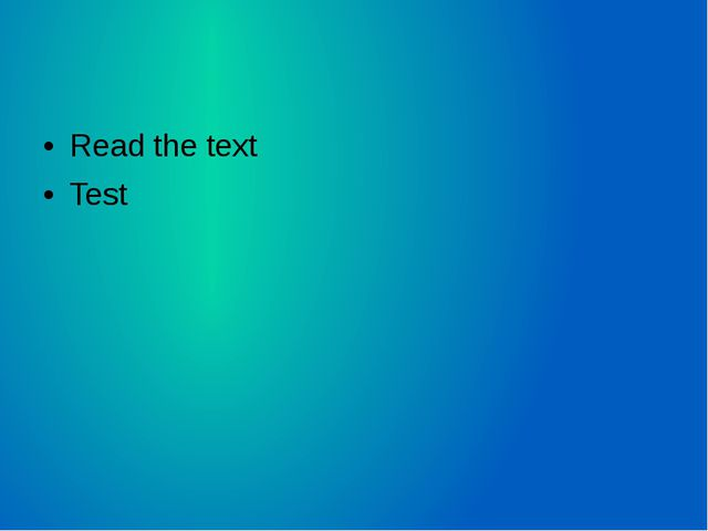 Read the text Test