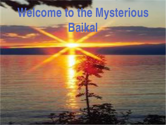 In Baikal you can find a sea animal- seal (it's Baikal seal). It has beautifu...