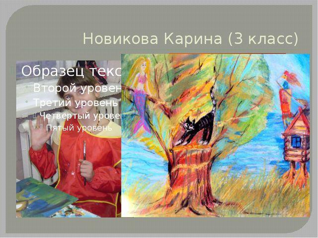 Новикова Карина (3 класс)