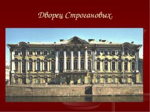 Дворец Строгановых.