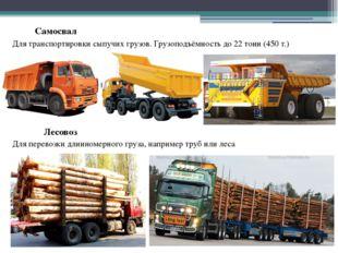 Самосвал Для транспортировки сыпучих грузов. Грузоподъёмность до 22 тонн (450