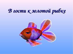 В гости к золотой рыбке