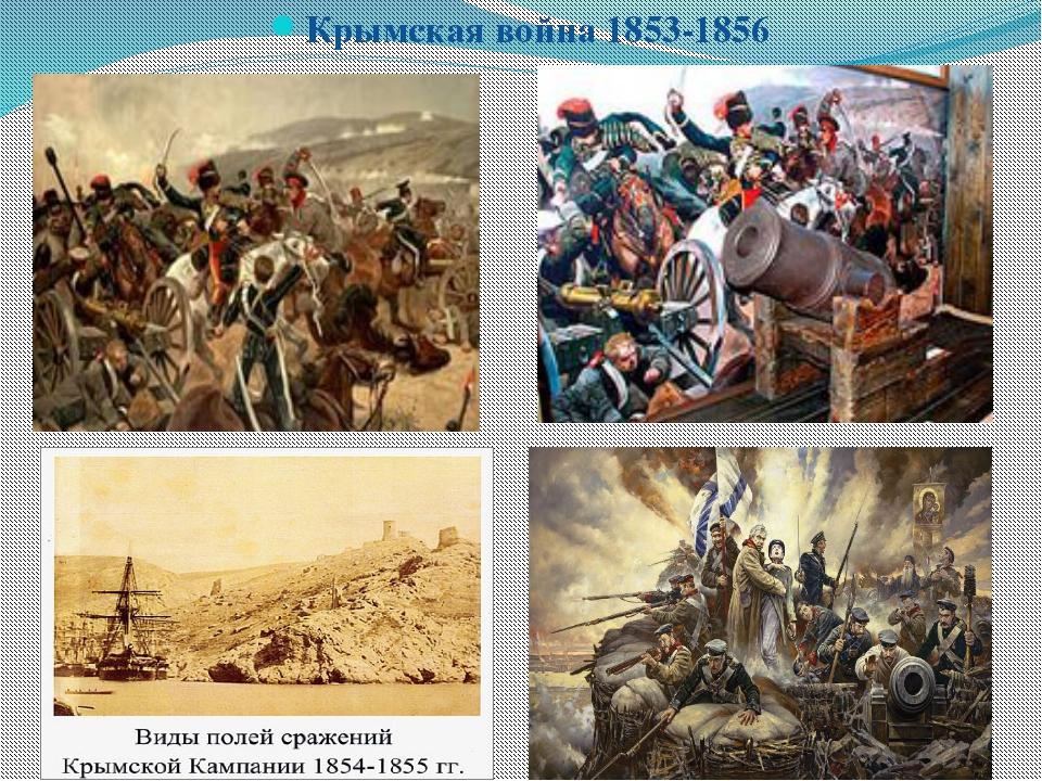 Крымская война 1853-1856 Крымская война 1853-1856