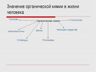 Значение органической химии в жизни человека Органическая химия Аминокислоты