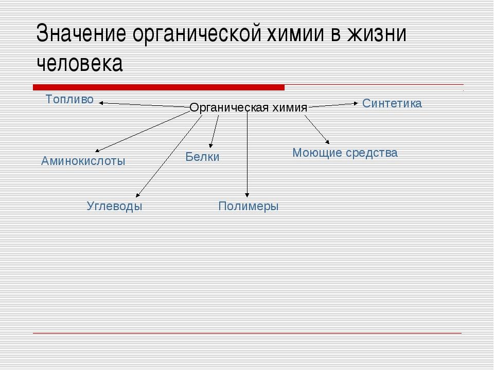Значение органической химии в жизни человека Органическая химия Аминокислоты...