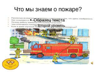 Что мы знаем о пожаре?