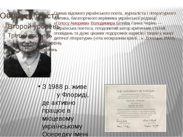 Очима відомого українського поета, журналіста і літературного критика, багат...