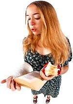 teacher reading a story