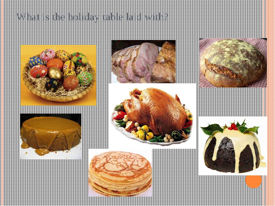 What is the holiday table laid with?