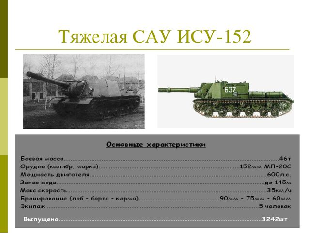 Тяжелая САУ ИСУ-152