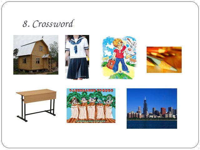 8. Crossword