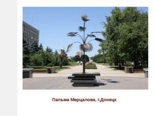 Пальма Мерцалова, г.Донецк