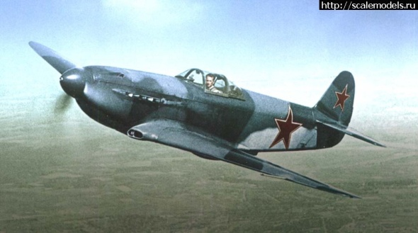 Yak-3 famous RUSSIAN WWII fighter kit by Red Star RC