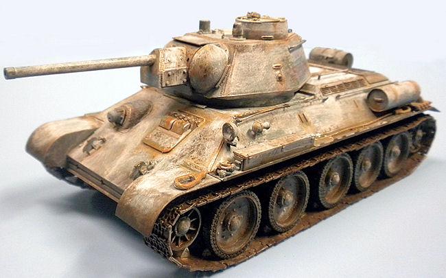 OT-34/76 Mod 1943 modeliyar.ru
