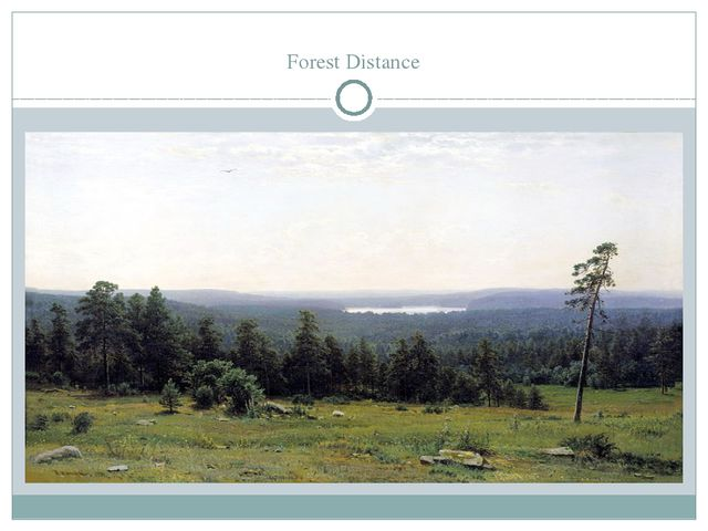 Forest Distance