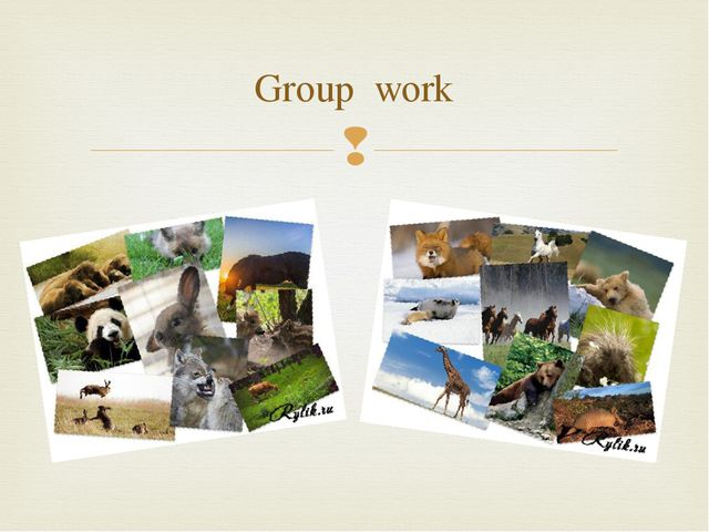 Group work 