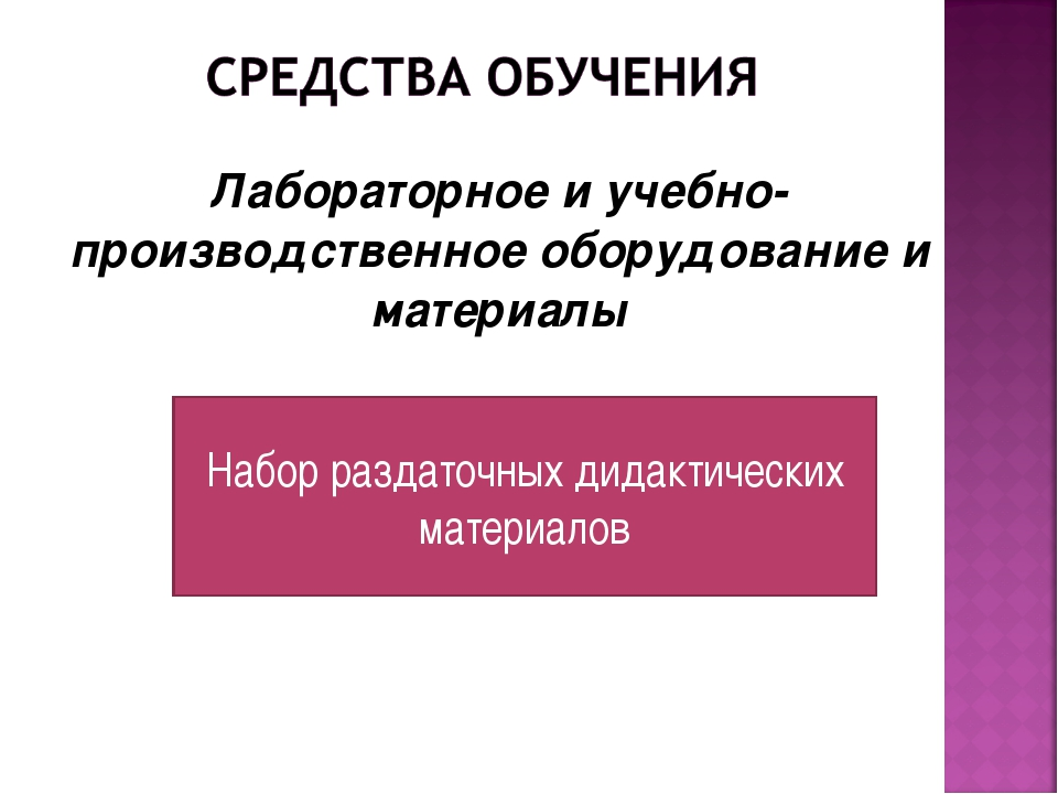 Лабораторное и учебно-производственное оборудование и материалы Набор раздато...