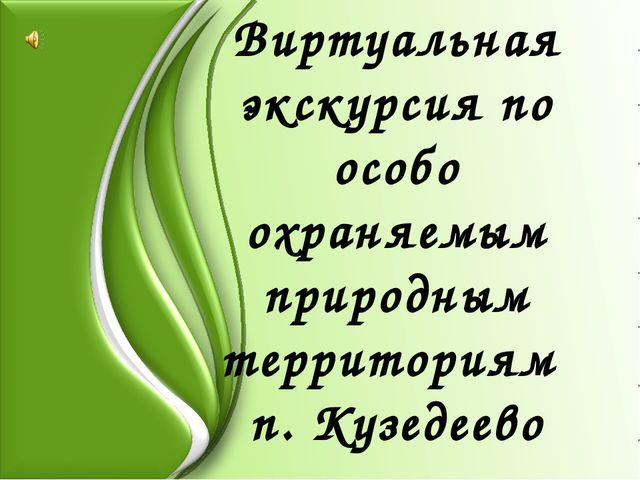 Виртуальная экскурсия по особо охраняемым природным территориям п. Кузедеево