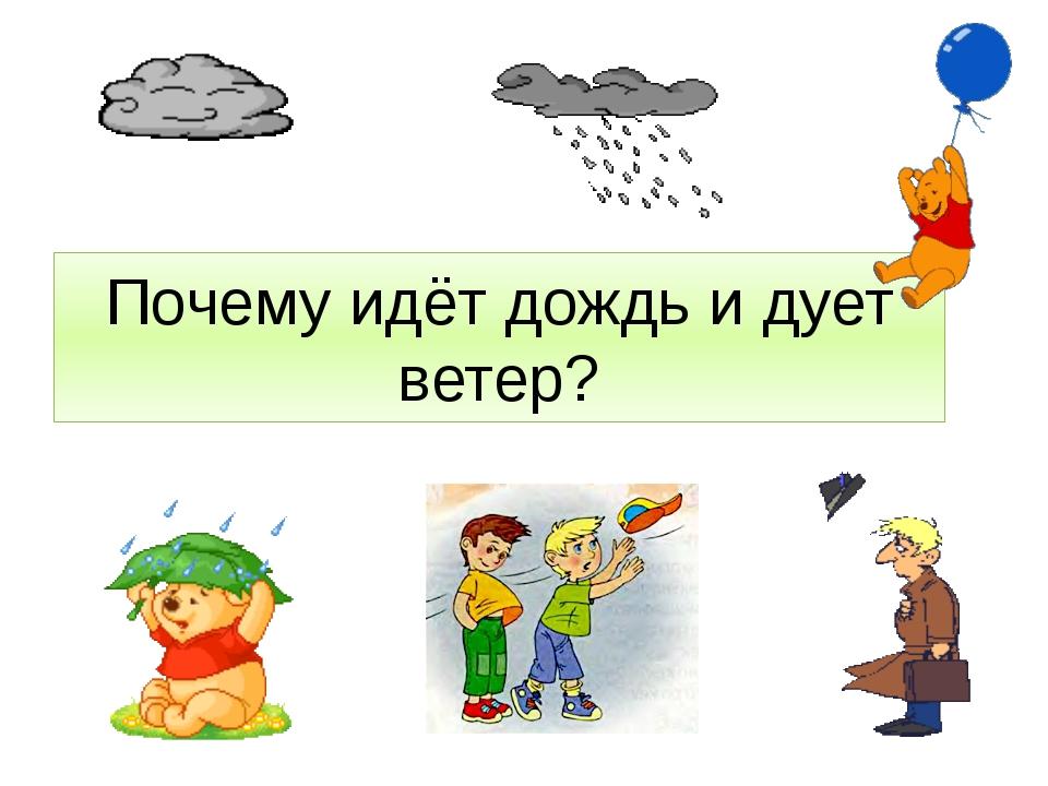Почему и идет дождь и дует ветер презентация 1 класс