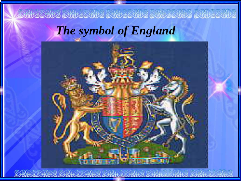 The symbol of England