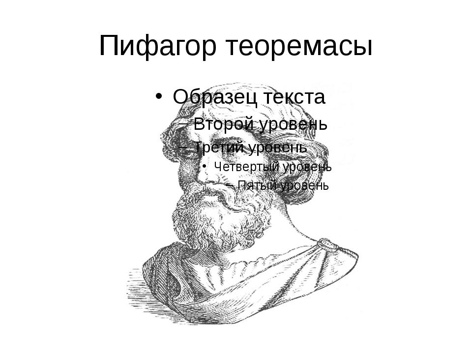 Пифагор теоремасы