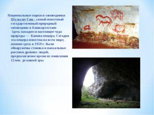 Национальные парки и заповедники Шульган-Таш - самый известный государственны