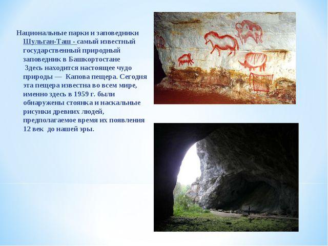Национальные парки и заповедники Шульган-Таш - самый известный государственны...